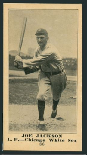 Shoeless Joe Jackson Cards The Definitive Guide All Vintage Cards