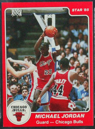 84-85 Star Jordan Rookie